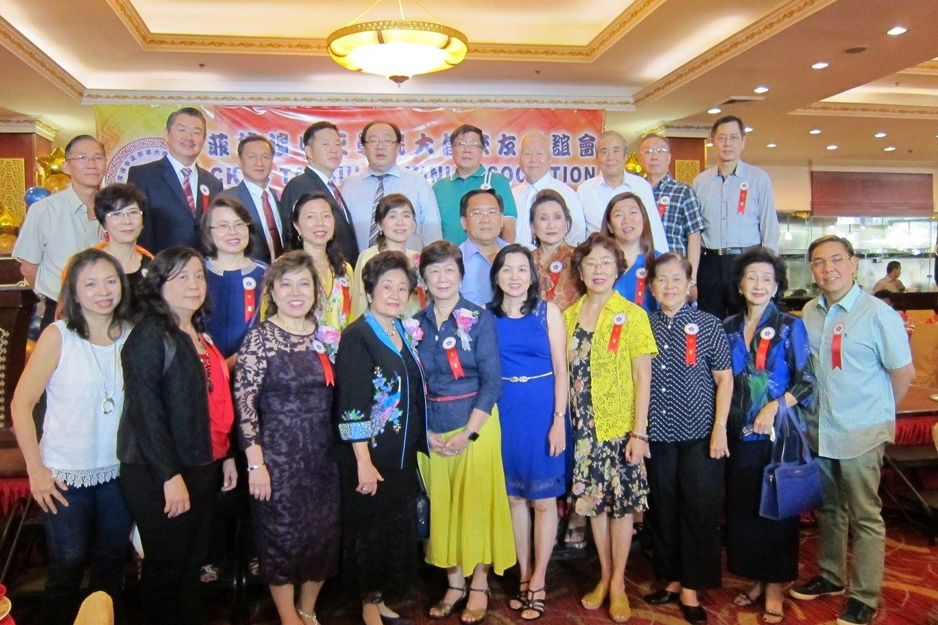 Induction of officers of Tai Siu Alumni Association at the Golden Bay Seafood Restaurant