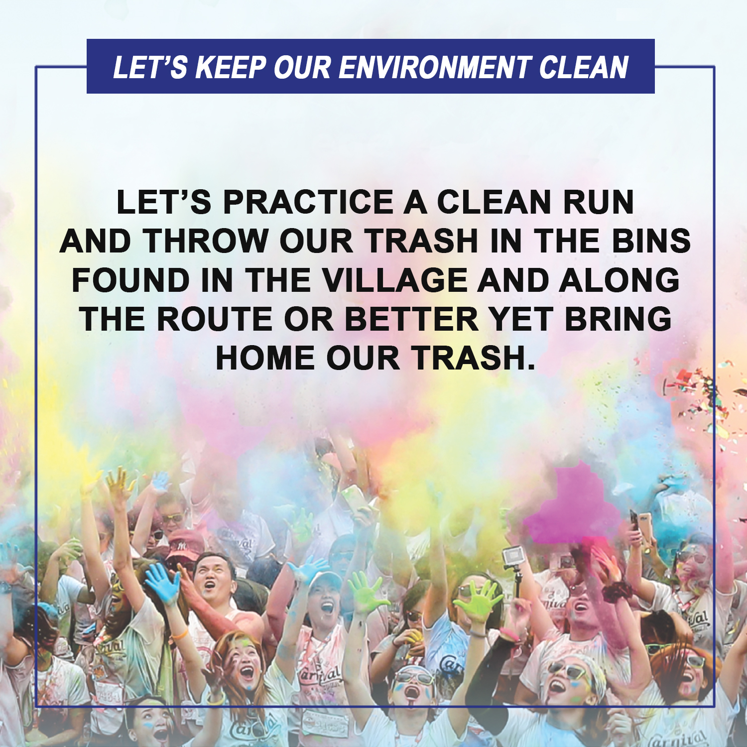 Lets keep our environment clean