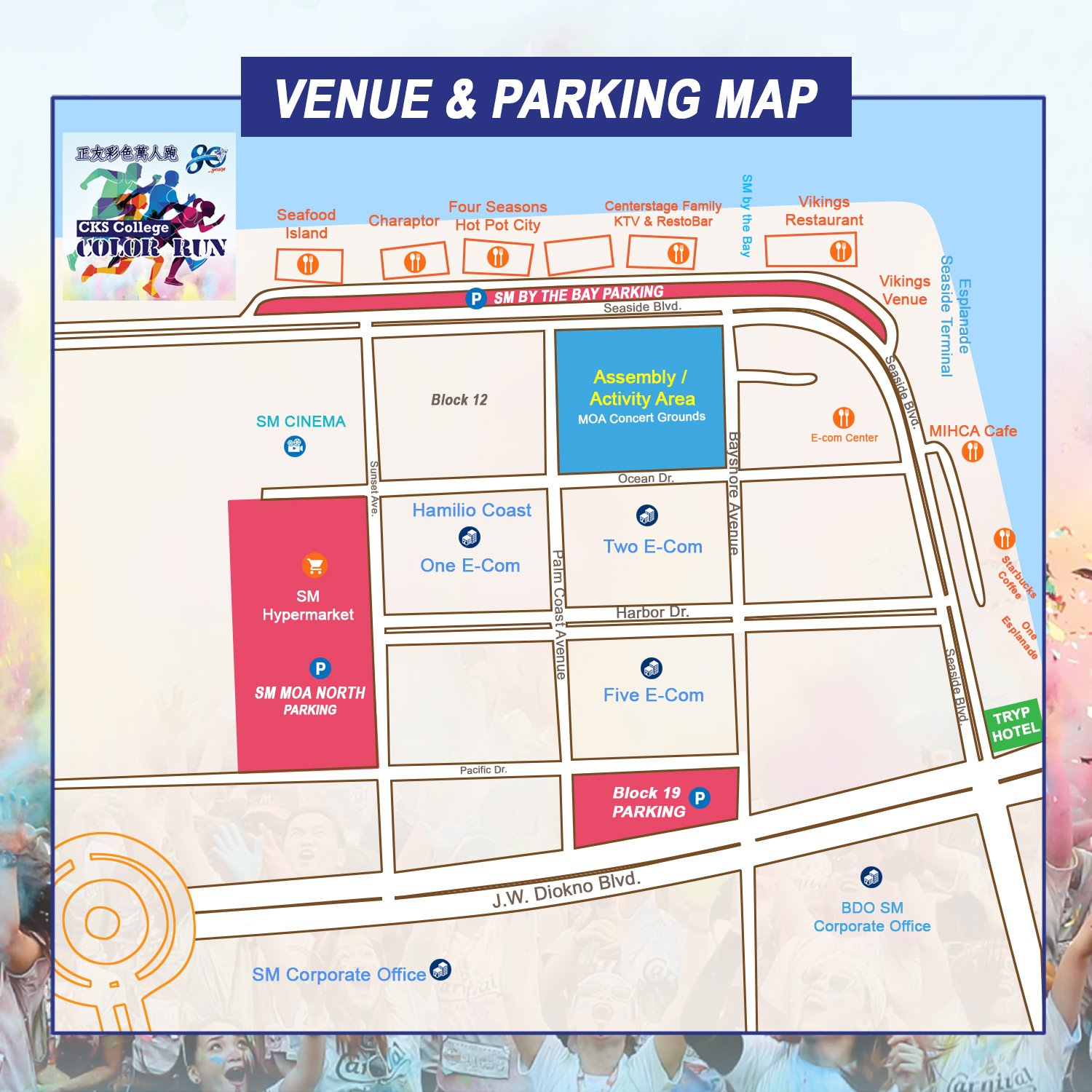 Venue Parking Map